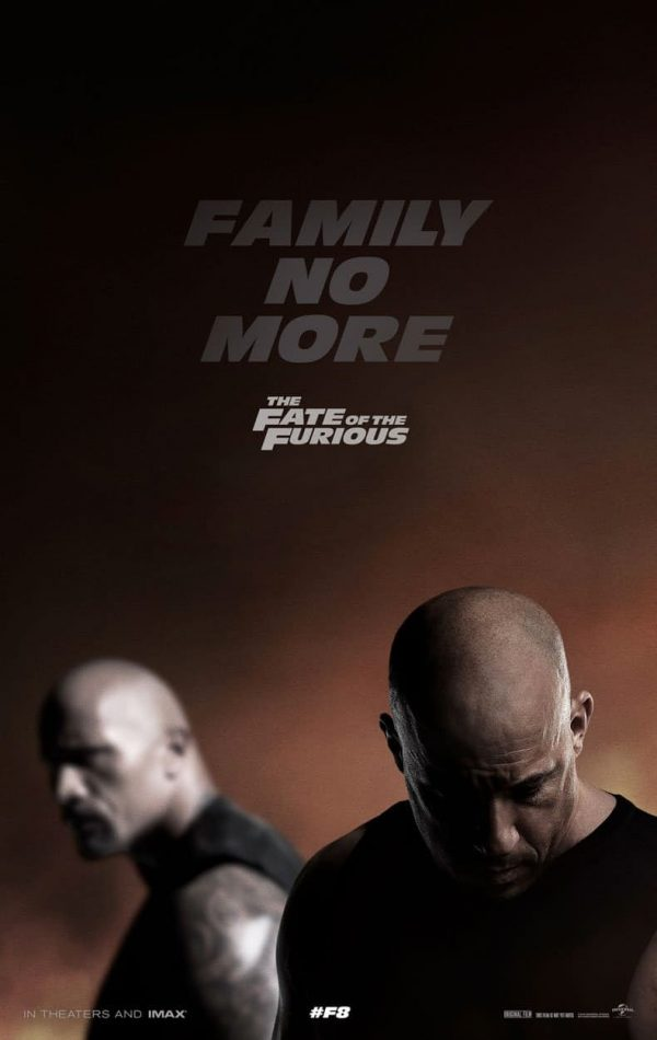 Fate of the Furious poster 600x950 The Fate of the Furious