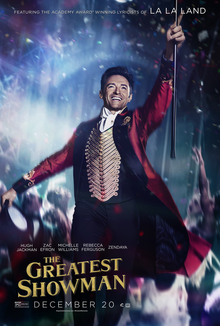 The Greatest Showman poster The Greatest Showman