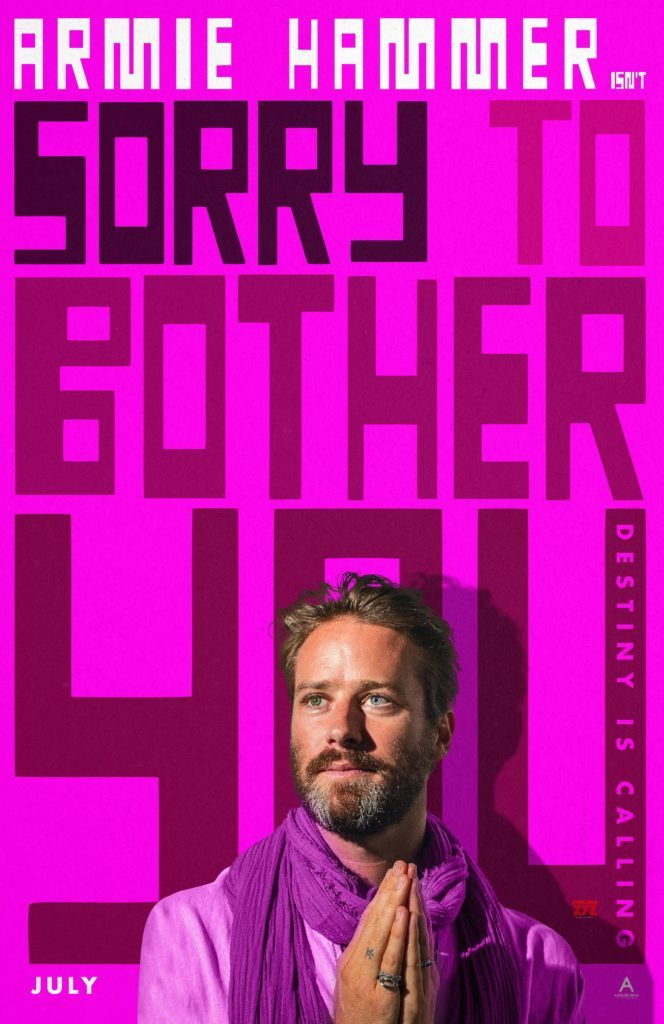 sorry to bother you movie poster armie hammer 664x1024 664x1024 Sorry To Bother You