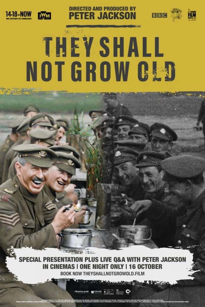 onesheet 682x1024 They Shall Not Grow Old