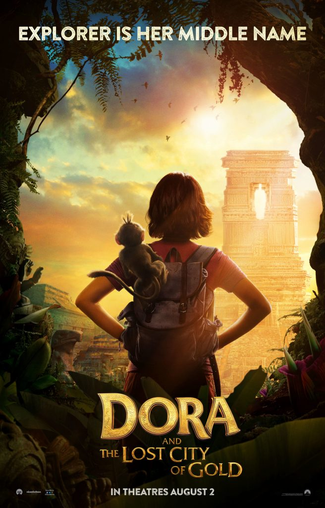 doradomonlineteaser1 sheet 656x1024 Dora and the Lost City of Gold